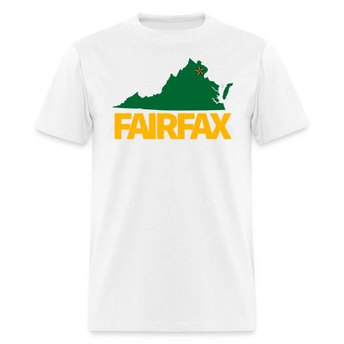 Green & Gold Fairfax T-Shirt - Men's T-Shirt