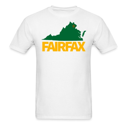 Green & Gold Fairfax T-Shirt - Men's T-Shirt