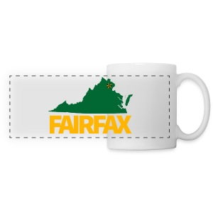 Green & Gold Fairfax Coffee Mug - Panoramic Mug