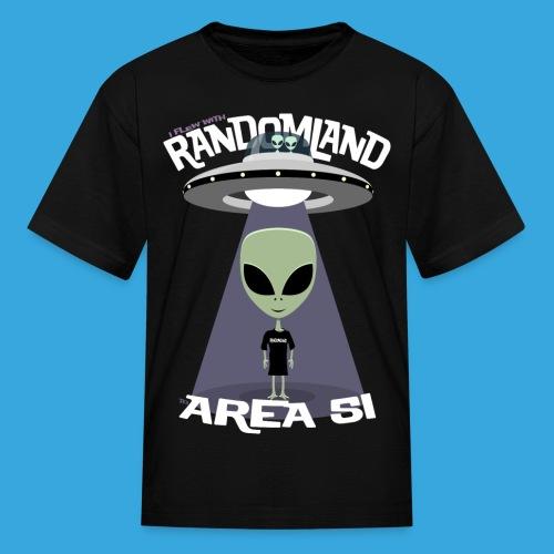RANDOMLAND Kids AREA 51 - Kids' T-Shirt