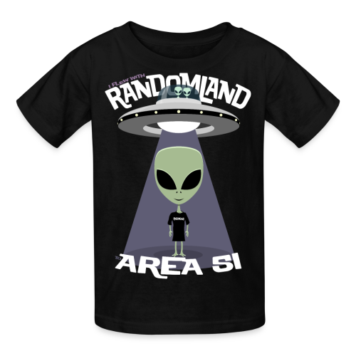 RANDOMLAND Kids AREA 51 - Kids' T-Shirt