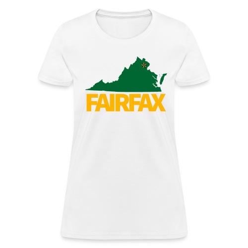 Green & Gold Fairfax - Women's T-Shirt - Women's T-Shirt