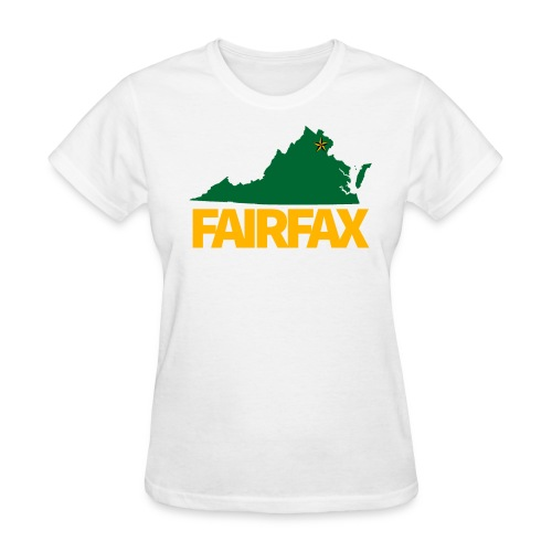 Green & Gold Fairfax - Women's T-Shirt - Women's T-Shirt