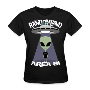 RANDOMLAND Women's AREA 51 - Women's T-Shirt