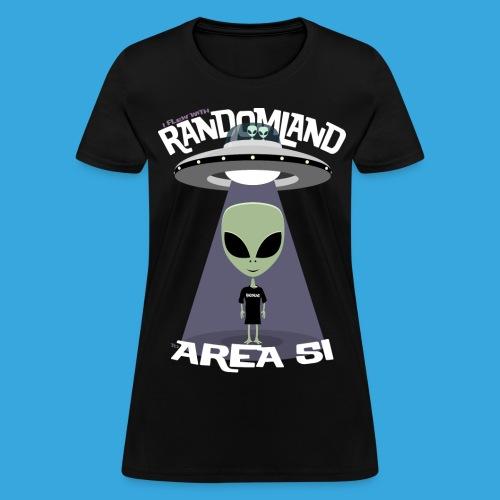 RANDOMLAND Women's AREA 51 - Women's T-Shirt