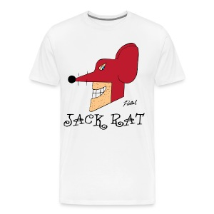 Jack Rat Men's T-shirt - Men's Premium T-Shirt