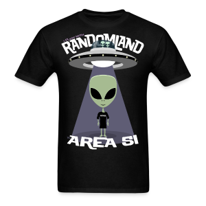 RANDOMLAND AREA 51 - Men's T-Shirt
