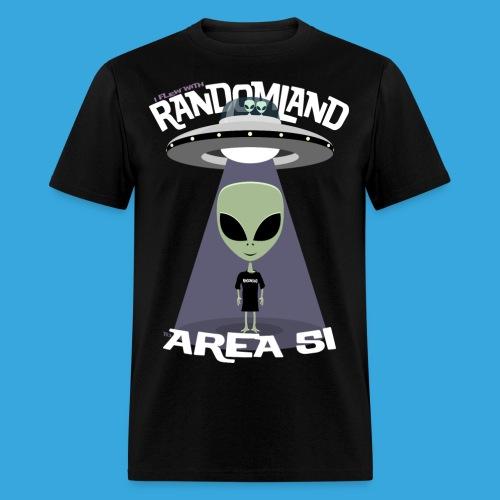 RANDOMLAND AREA 51 - Men's T-Shirt
