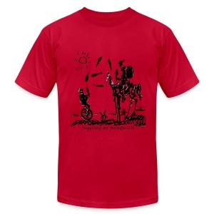 Juggling at Windmills T-Shirt (American Apparel) - Men's Fine Jersey T-Shirt