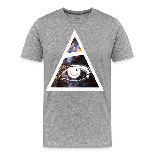 RoyaltyMindset All-Seeing-Eye T-Shirt - Men's Premium T-Shirt