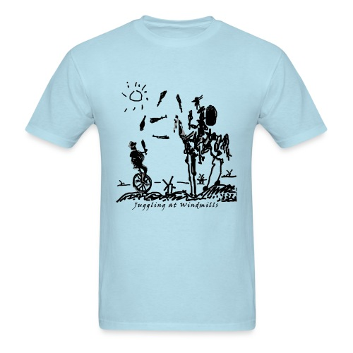Juggling at Windmills T-Shirt (Men's Gildan) - Men's T-Shirt