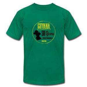 guyana t shirt men - Men's Fine Jersey T-Shirt