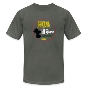 Guyana women t shirt - Men's Fine Jersey T-Shirt