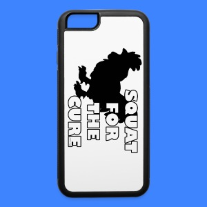 Squat For The Cure iPhone 6 Rubber Case - iPhone 6/6s Rubber Case