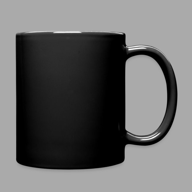 Black on Black Logo Mug