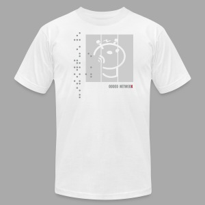 Electric Netwerx Logo - Men's Fine Jersey T-Shirt