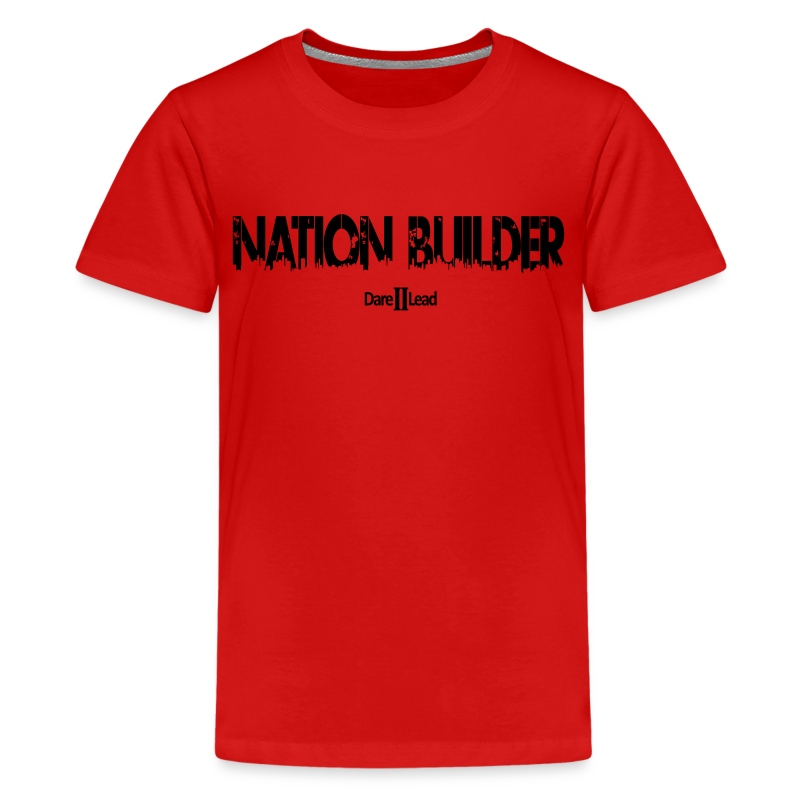 (YOUTH) #NationBuilder - Kids' Premium T-Shirt