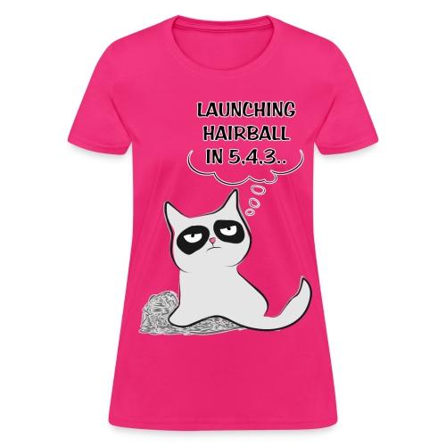Hairball Cat - W - Women's T-Shirt
