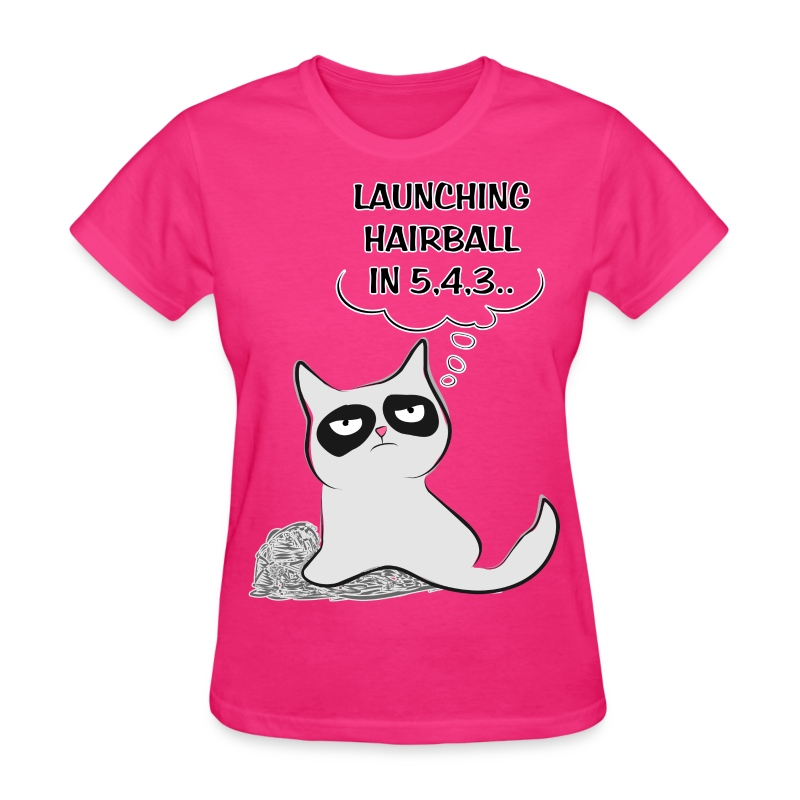 MAD CAT - Launching Hairb - Women's T-Shirt