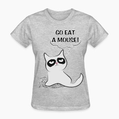 MAD CAT Go Eat A Mouse
