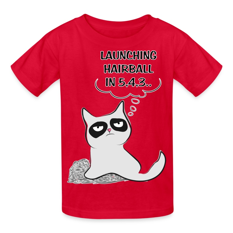 MAD CAT - Launching Hairb - Kids' T-Shirt