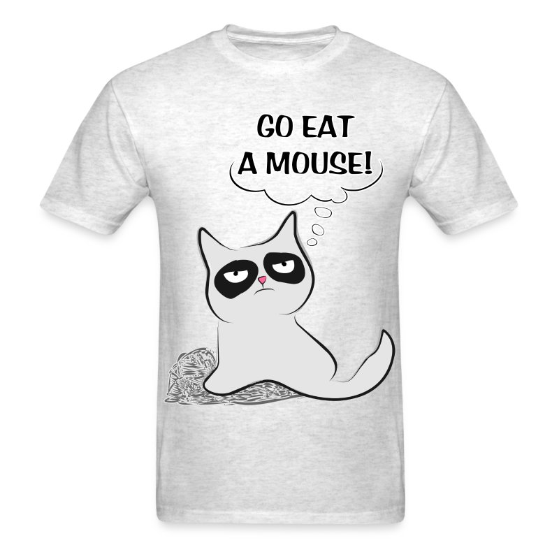 MAD CAT - Go Eat A Mouse - Men's T-Shirt