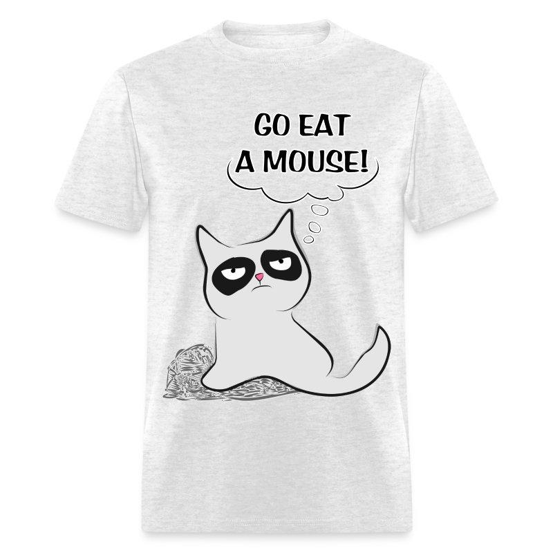 Eat a Mouse Cat - M - Men's T-Shirt