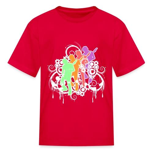 Rock On - K - Kids' T-Shirt