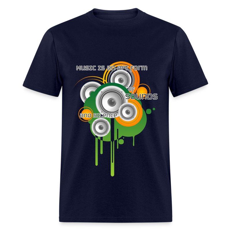 Music is Art - M - Men's T-Shirt