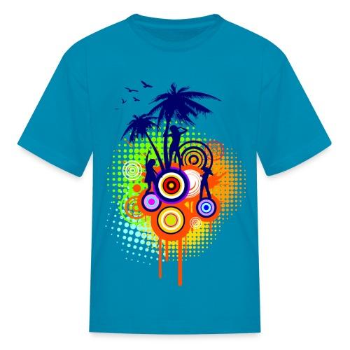 Summer Party - K - Kids' T-Shirt