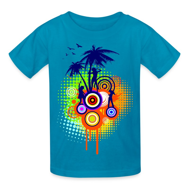 Summer Party - K - Kids' T-Shirt
