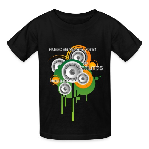 Music is an Art - Kids' T-Shirt