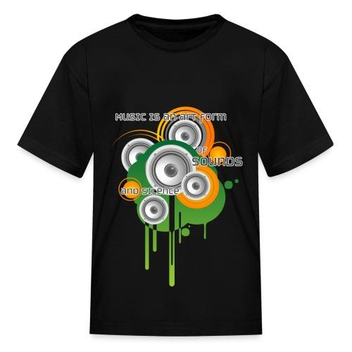 Music is Art - K - Kids' T-Shirt