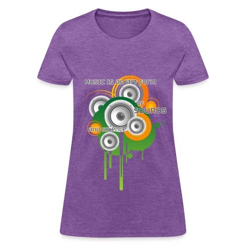 Music is Art - W - Women's T-Shirt