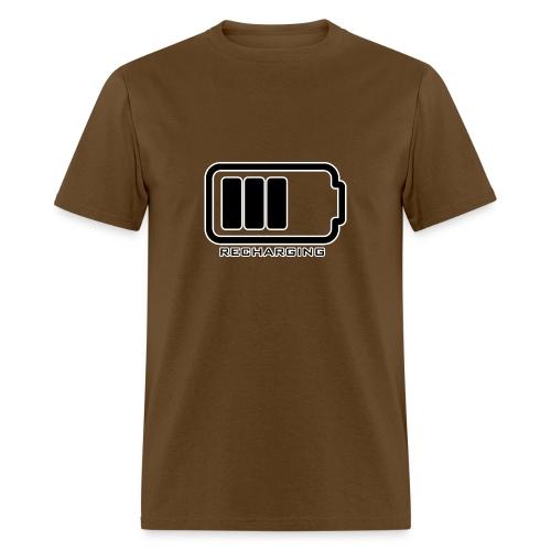 RECHARGING - M - Men's T-Shirt