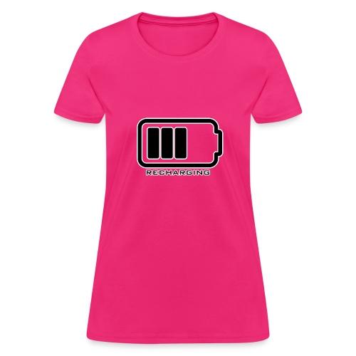 RECHARGING - Women's T-Shirt