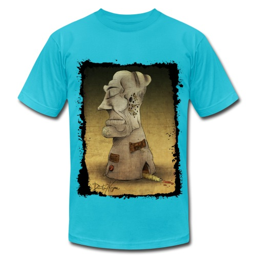 The Totem Building - Men's Fine Jersey T-Shirt
