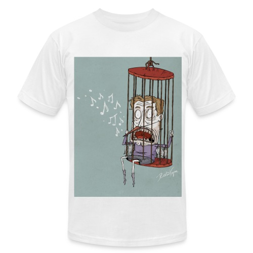 The Bird Cage - Men's Fine Jersey T-Shirt