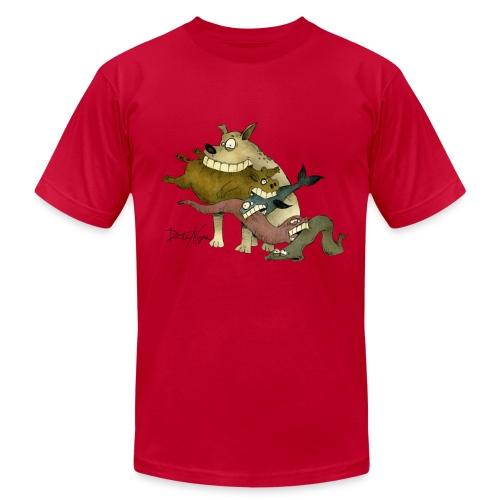 Food Chain v. Color - Men's  Jersey T-Shirt