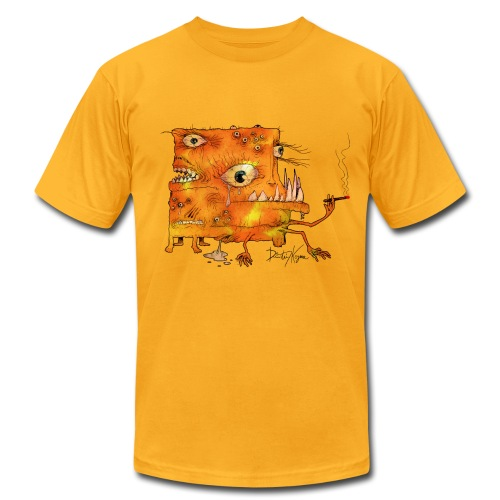The Freaky Square - Men's Fine Jersey T-Shirt