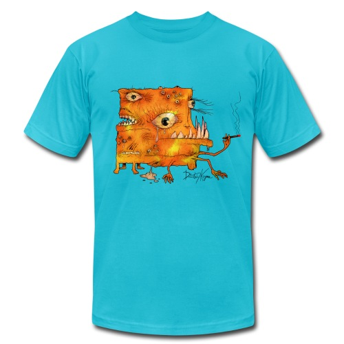 The Freaky Square - Men's  Jersey T-Shirt