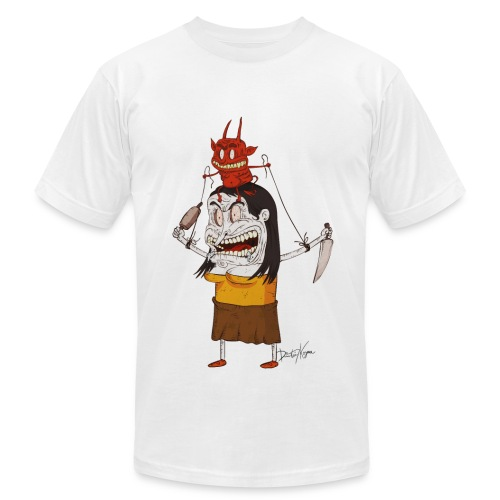 PMS Devil - Men's Fine Jersey T-Shirt