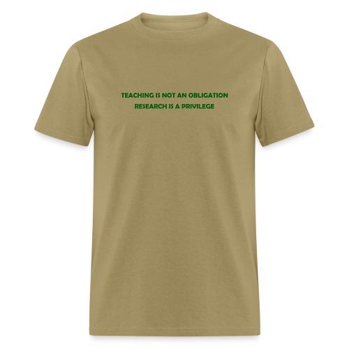 Teaching (Men's) - Men's T-Shirt