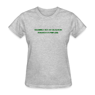 Women's T-Shirts ~ Women's T-Shirt ~ Teaching (Women's)