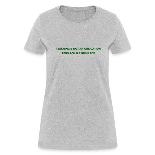 Teaching (Women's) - Women's T-Shirt