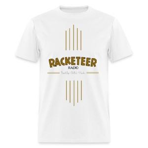 Mens Racketeer Radio New Logo - Men's T-Shirt