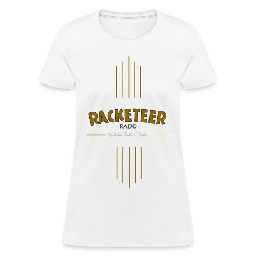 Womens Racketeer Radio New Logo - Women's T-Shirt