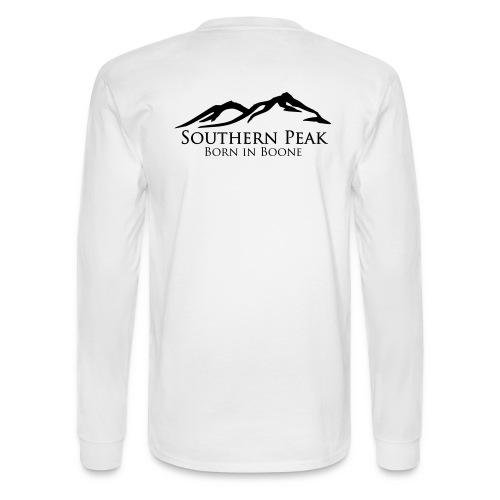 The Summit - Long Sleeve WHITE - Men's Long Sleeve T-Shirt