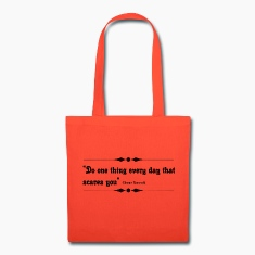 Canvas Tote Bag   Do One Thing Every Day