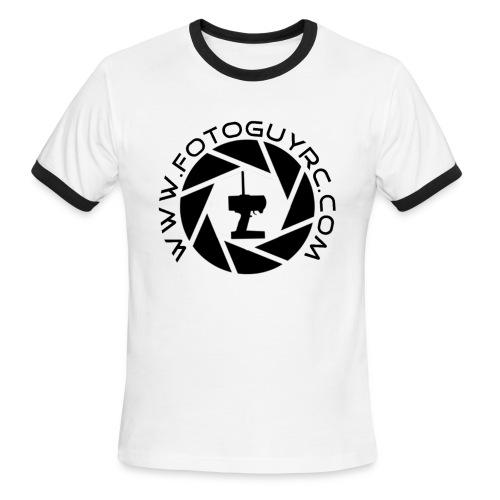 FotoGuy RC Mens Ringer T-Shit - Men's Ringer T-Shirt